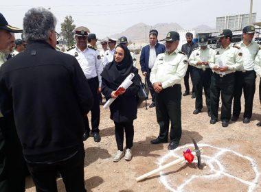 عملیات اجرایی پروژه ساختمان تجمیع 110 استان اصفهان