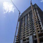 نازککاری نیمه غربی برج IFC