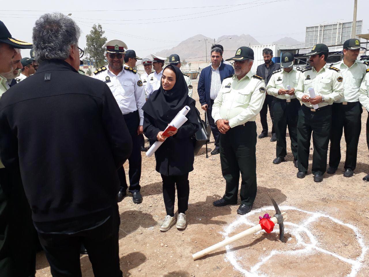 عملیات اجرایی پروژه ساختمان تجمیع ۱۱۰ استان اصفهان